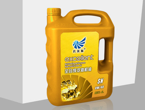 Total synthesis of gasoline engine oil 4L