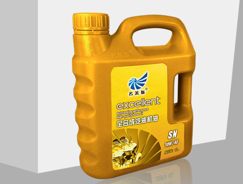 Total synthesis of gasoline engine oil 1L